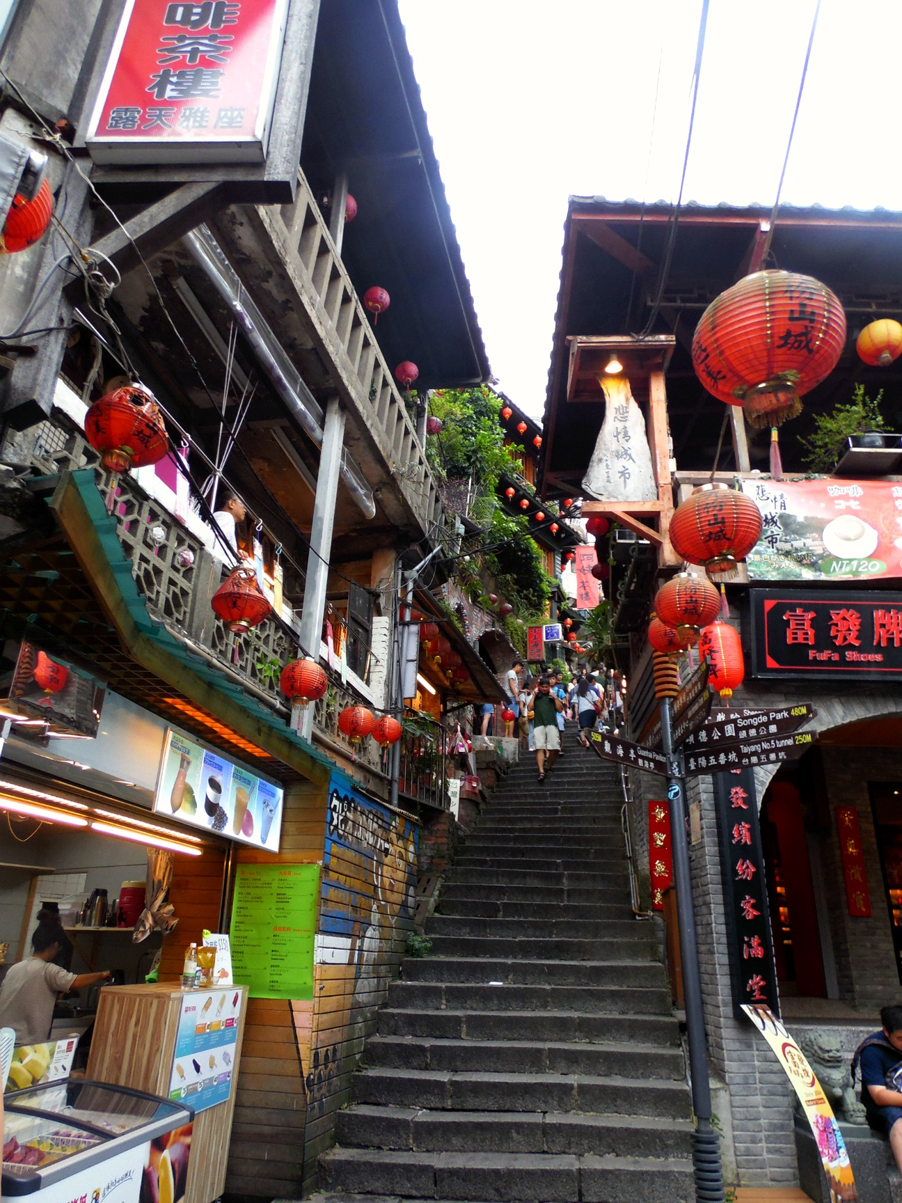 Five things to do in jiufen