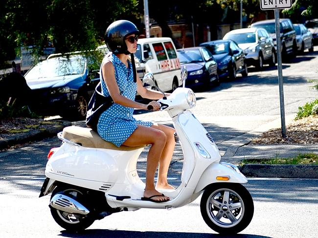 Look, I can ride a scooter without protective gear... but it doesn't mean I should!